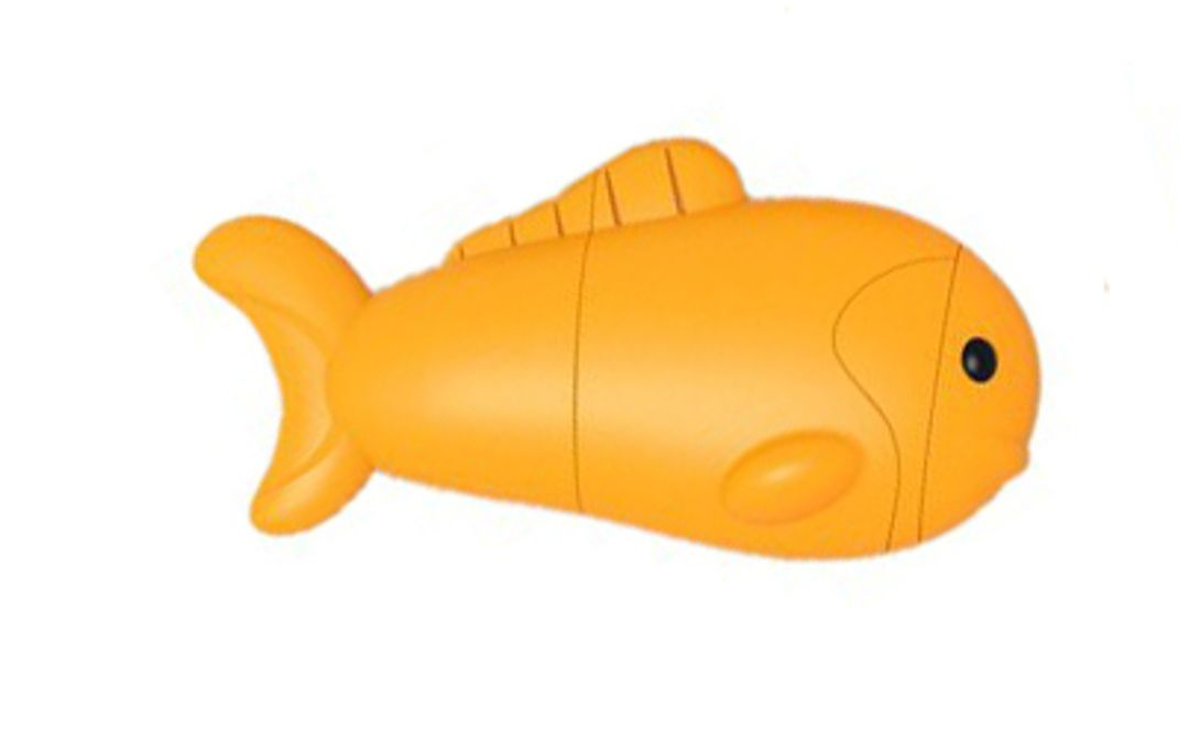 Флешка Желтая Рыбка 8 Гб