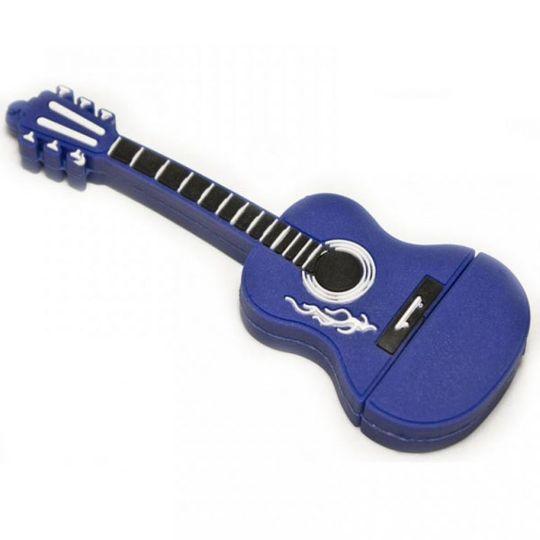 Флешка Гитара 8 Гб (Синяя)
