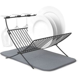 Сушилка для посуды c ковриком Xdry