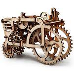Механический 3D Пазл Ugears Трактор Полностью из дерева
