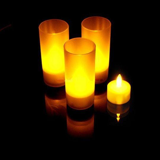 Электронные свечи (6 штук)