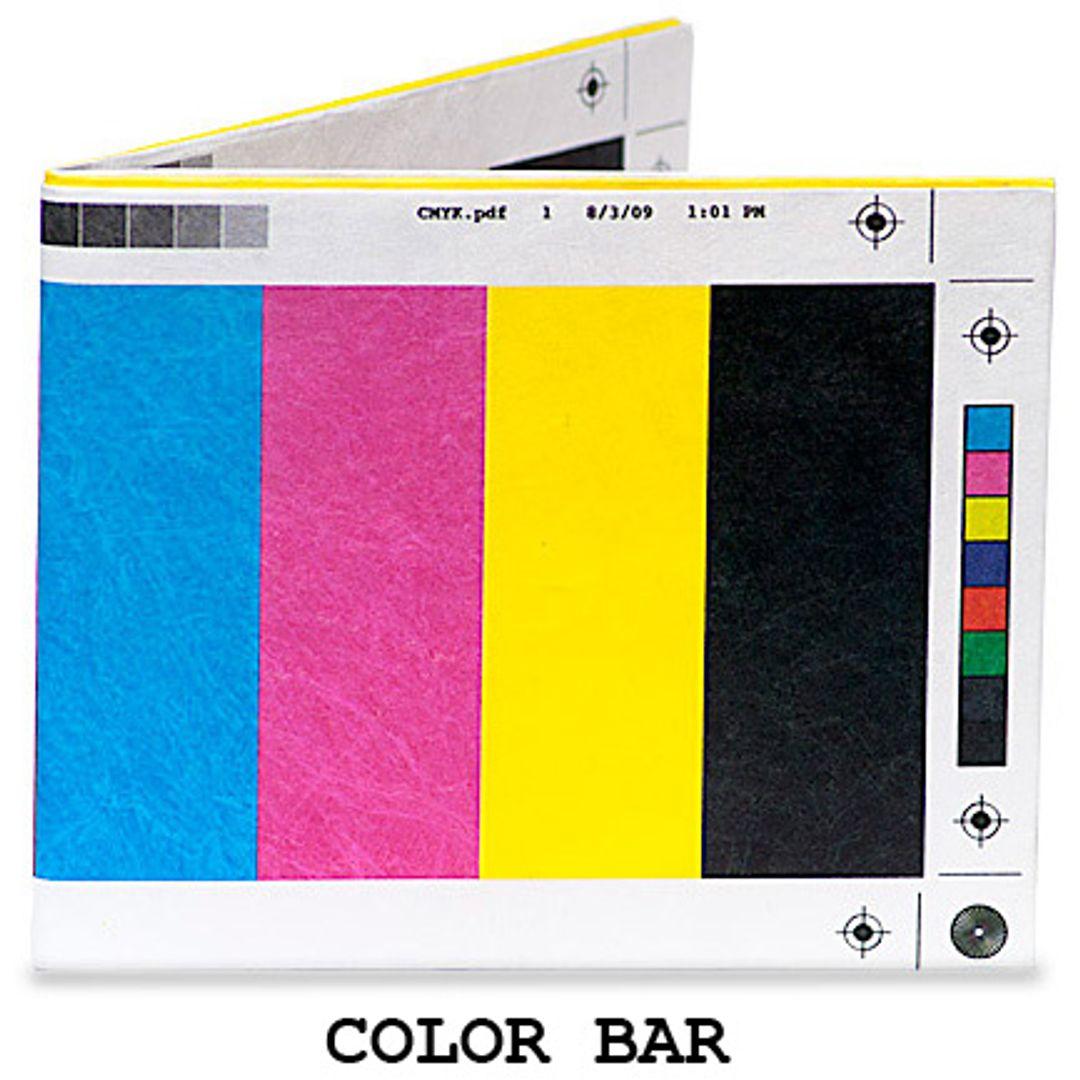 Бумажный Бумажник Mighty Wallet Color Bar