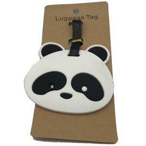 Бирка для багажа Панда