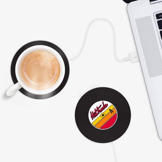 USB Подогреватель для чашки Винил Hot Tracks