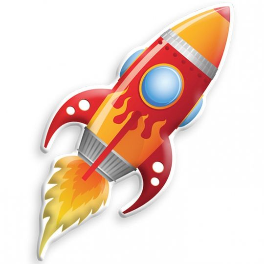 Ночник Ракета Big Red Rocket