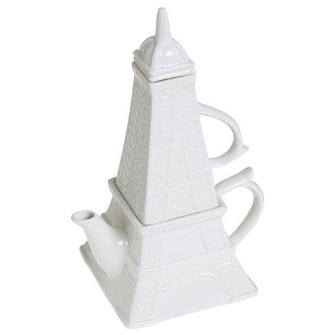 Чайный набор Эйфелева башня
