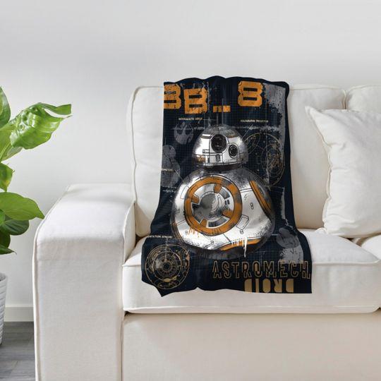 Плед Star Wars BB-8