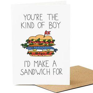 Открытка Сэндвич
