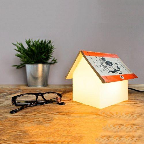 Настольный светильник<br>Домик