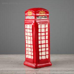 Копилка Красная английская телефонная будка