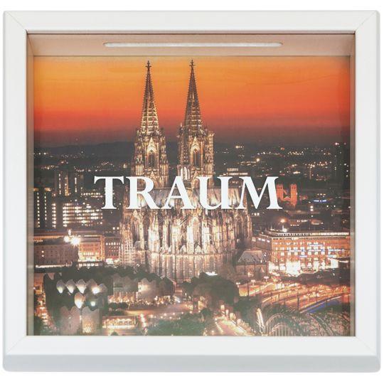 Копилка путешественника Traum Германия (Белый)