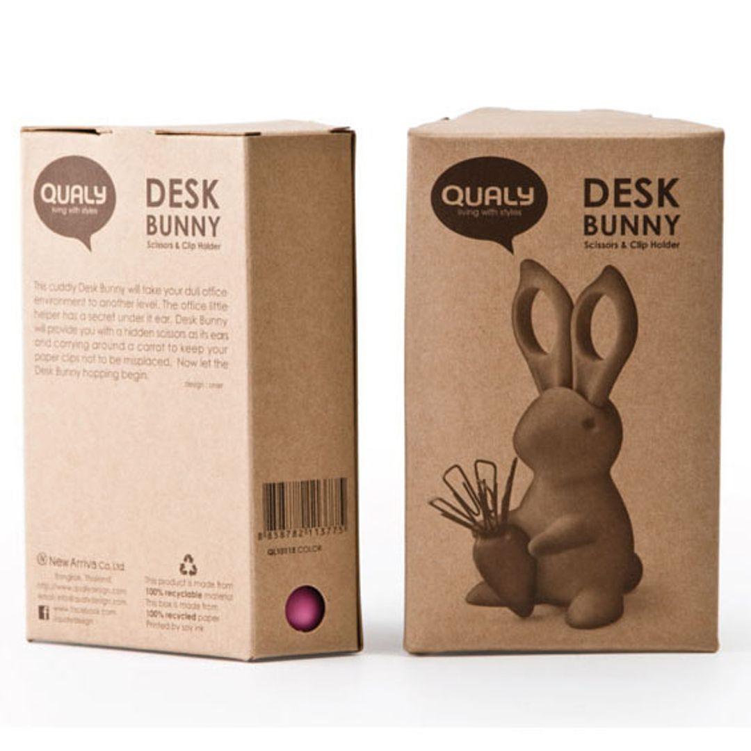 Канцелярский набор Кролик Desk Bunny Упаковка