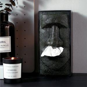 Органайзер для салфеток Статуя Моаи MOAI