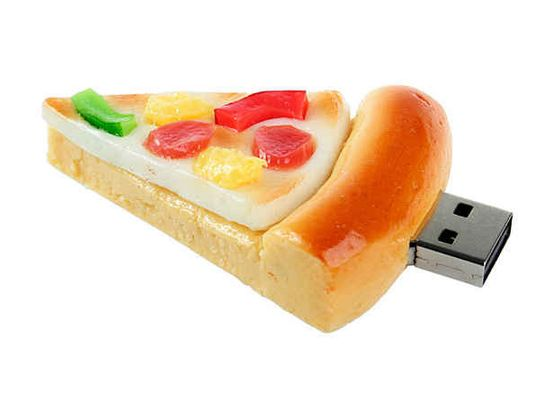 Флешка Кусок пиццы 4 Гб
