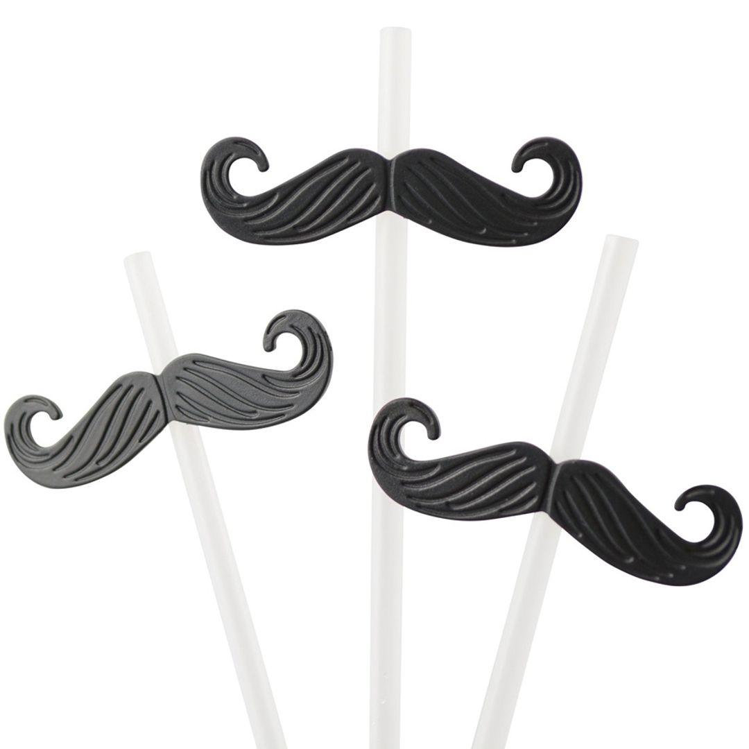 Трубочки для коктейля Усы Mustache