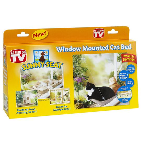 Подвесная лежанка для кошек Sunny Seat Упаковка