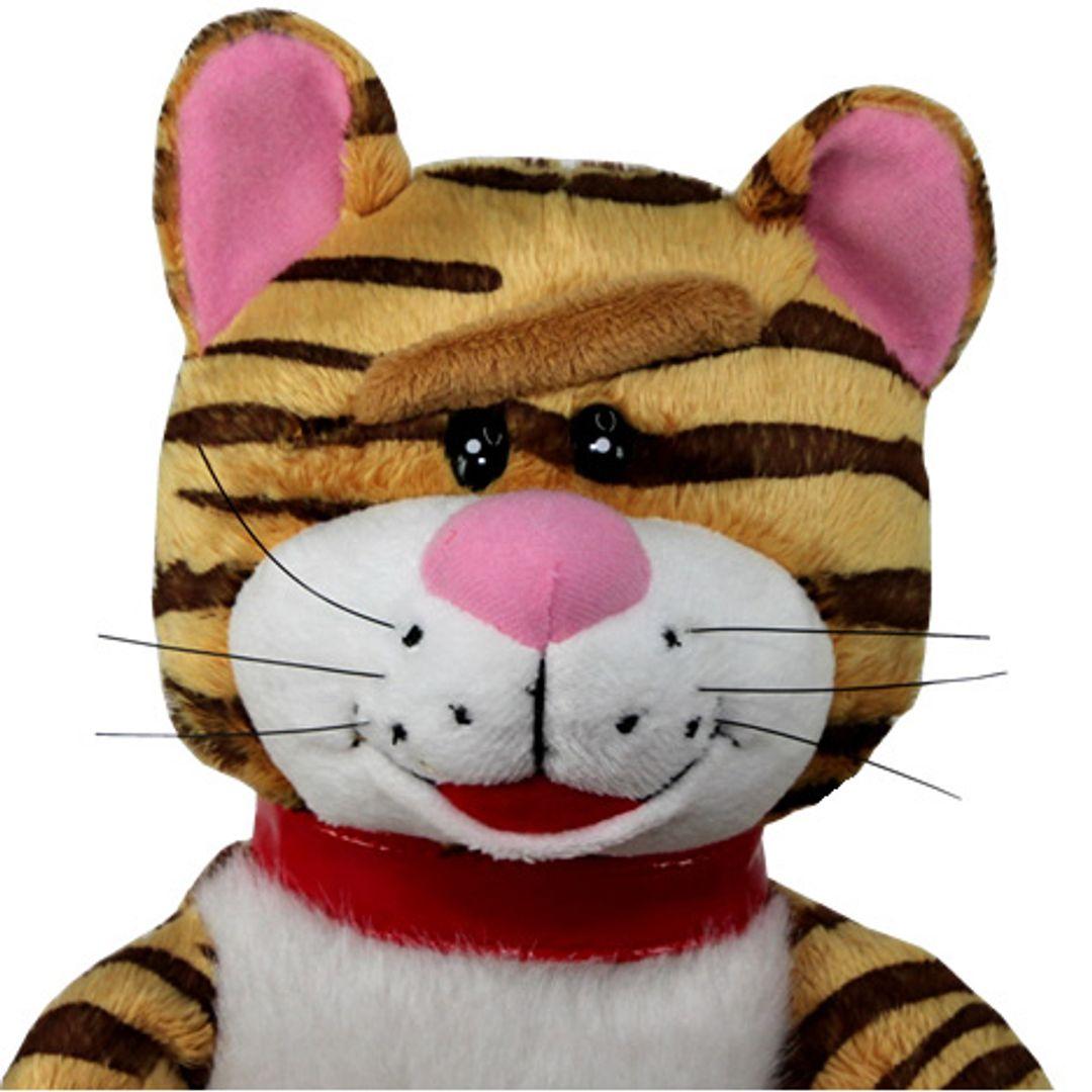 Музыкальная игрушка Кот и мышка Голова кота