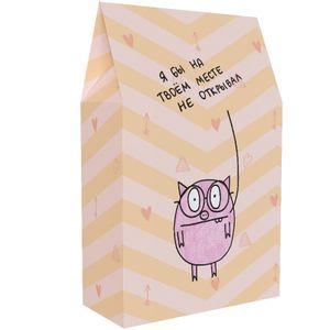 Подарочная коробка Я бы на твоем месте не открывал