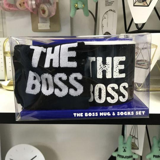 Подарочный набор The Boss (носки + кружка)
