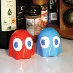 Солонка и перечница Pac-Man