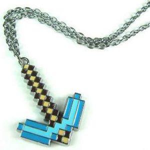 Брелок Алмазная кирка Minecraft