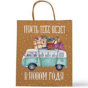 Подарочный пакет Пусть тебе везет в Новом году