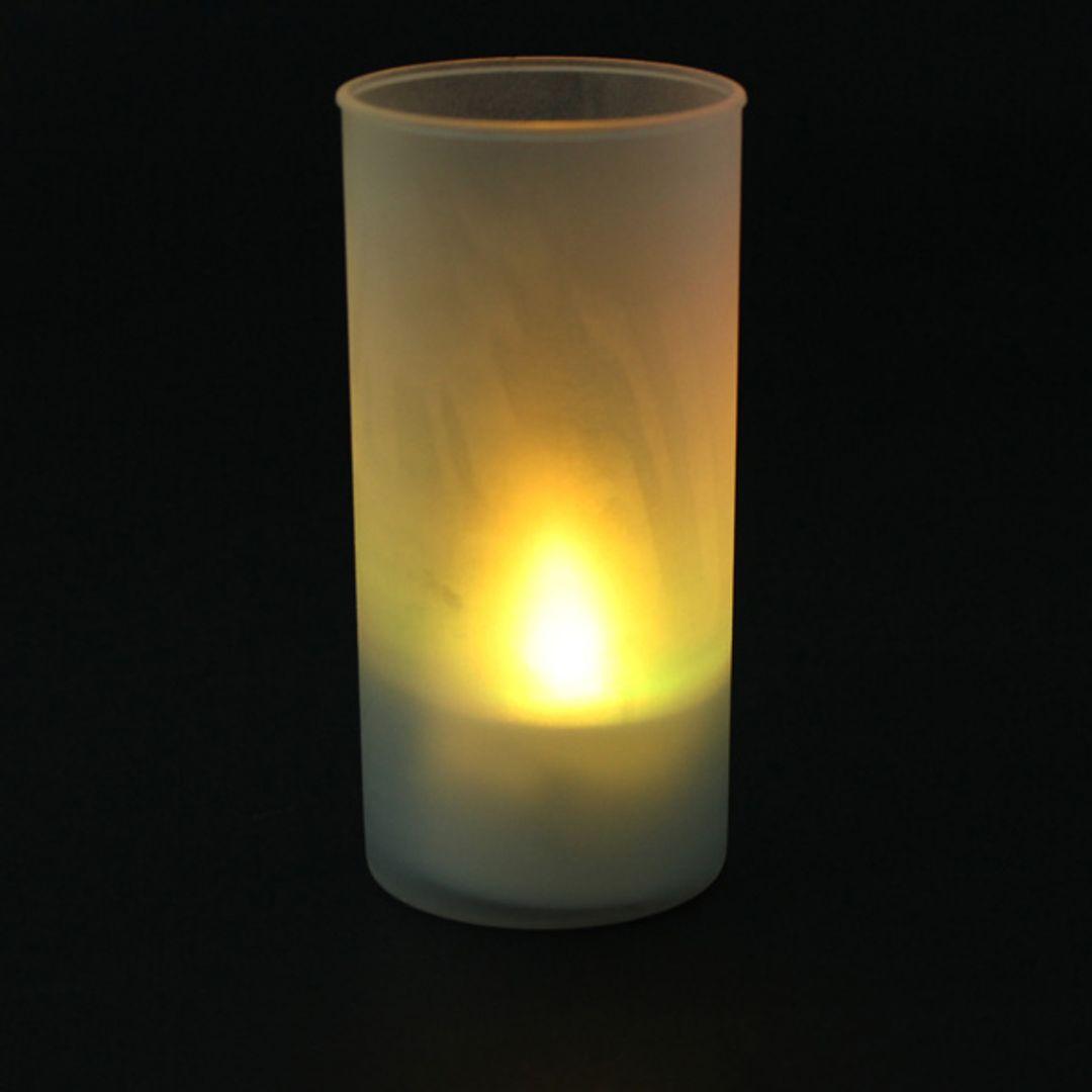 Светодиодная свеча с желтым свечением