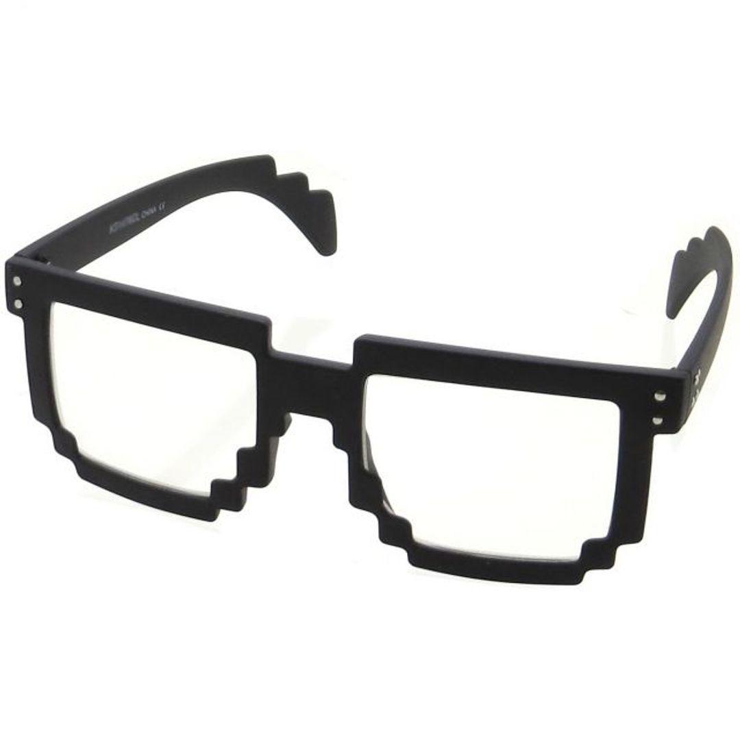 8-битные очки (Черные)