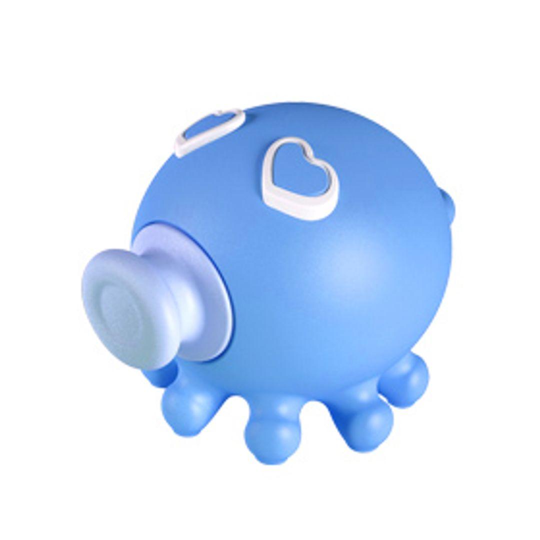 Флешка Осьминожка Голубая 4 Гб