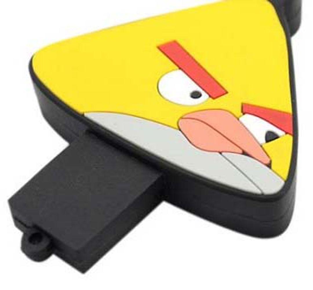 Флешка Angry Birds Желтая птичка 4 Гб