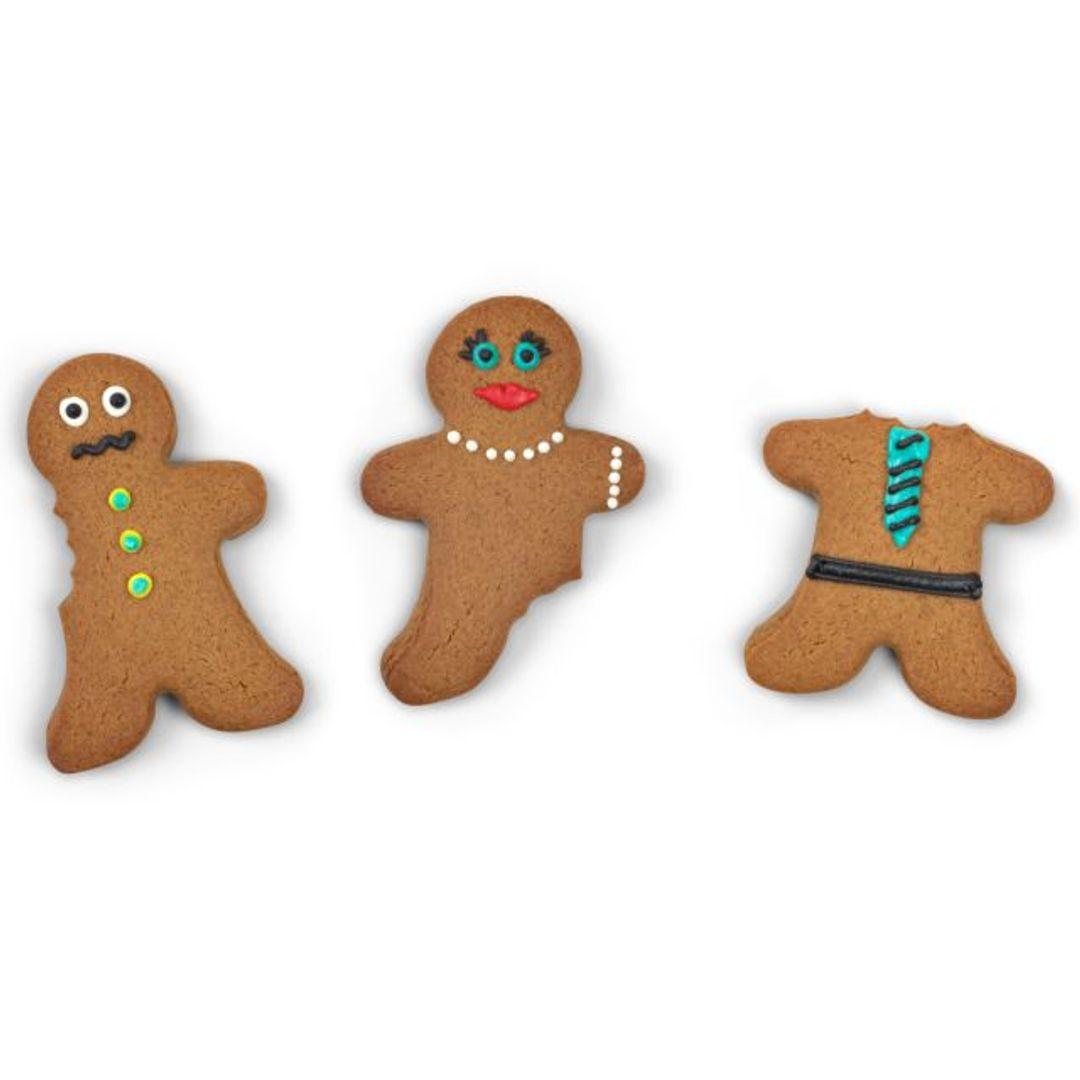 Форма для выпечки Откусанный человечек ABC Cookies