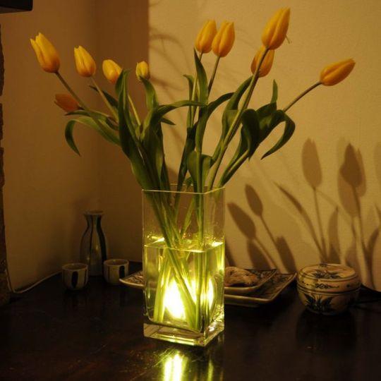 Водонепроницаемые лампы с пультами (4 шт.)