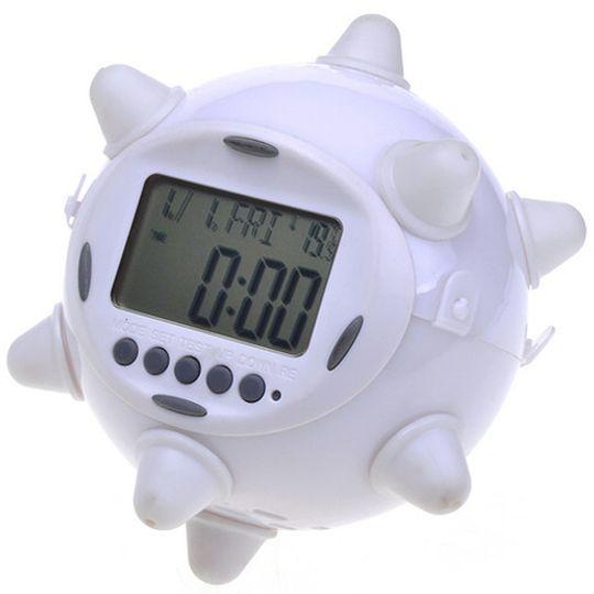 Прыгающий будильник (Белый)