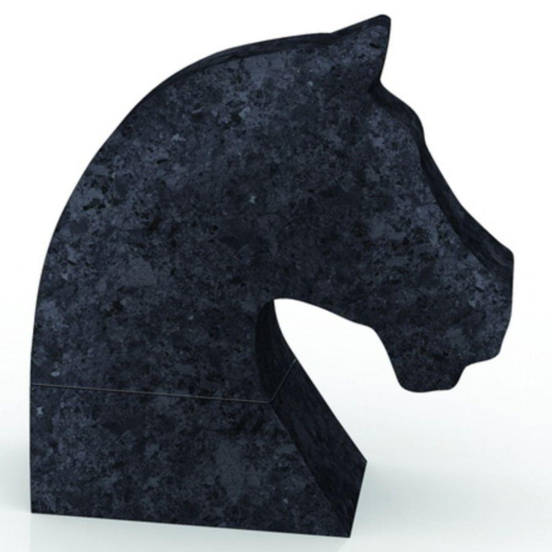 Флешка Конь 8 Гб (Черный)