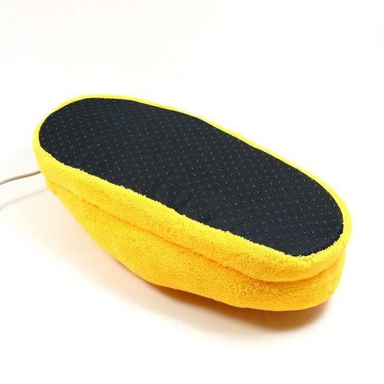 Тапочки с подогревом от USB Желтые