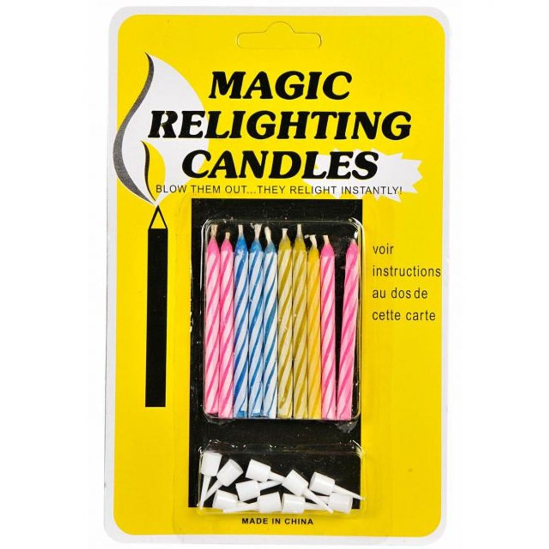 Незадуваемые свечи Упаковка