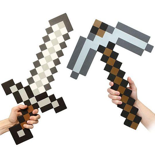 Железная кирка Minecraft