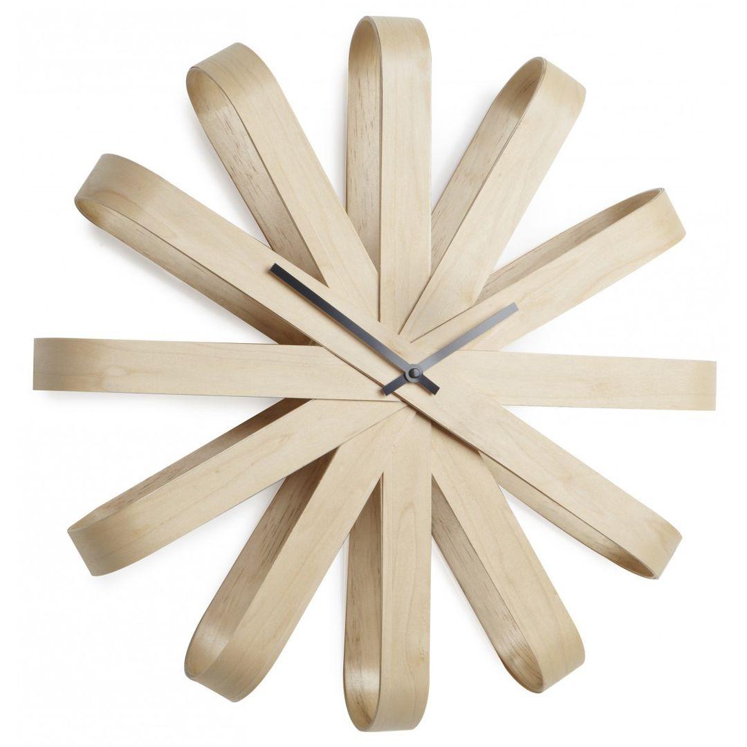 Часы настенные Ribbon (Деревянные)