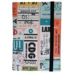 Обложка для паспорта Stamps Фиксируется резинкой сверху