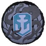 Подушка круглая World of Warships Награда моряка