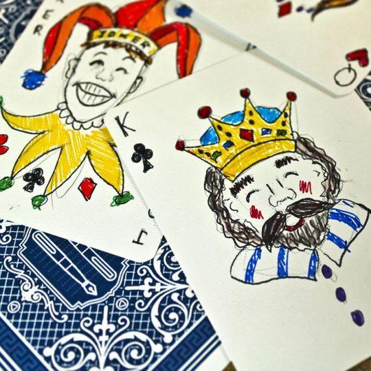 Блокнот Игральные карты Playing Cards