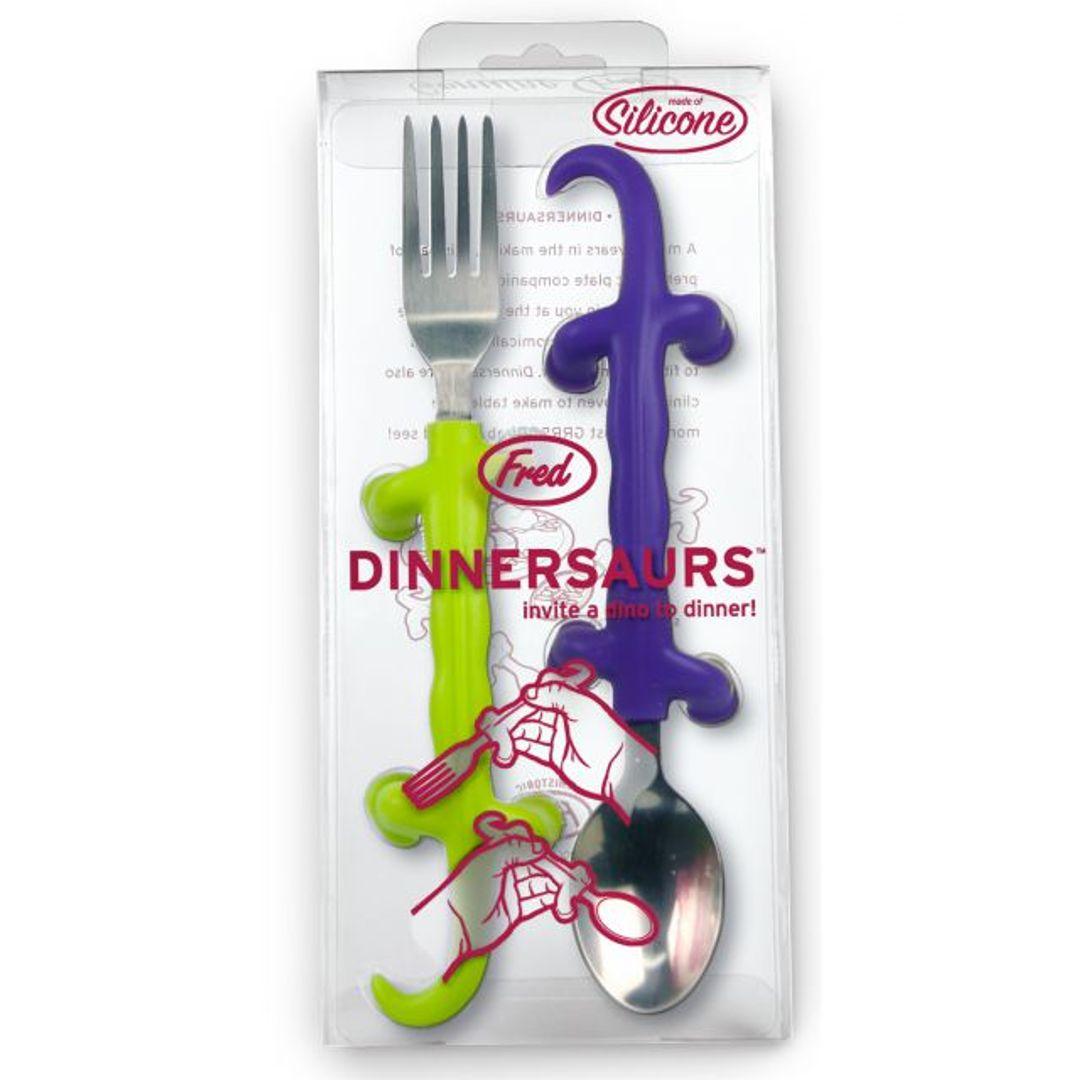 Вилка и ложка Динозавры Dinnersaurs