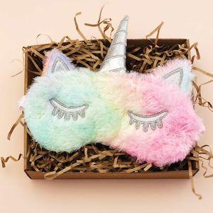 Маска для сна Unicorn Color