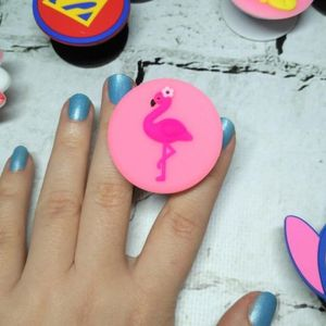 Попсокет Розовый Фламинго Flamingo
