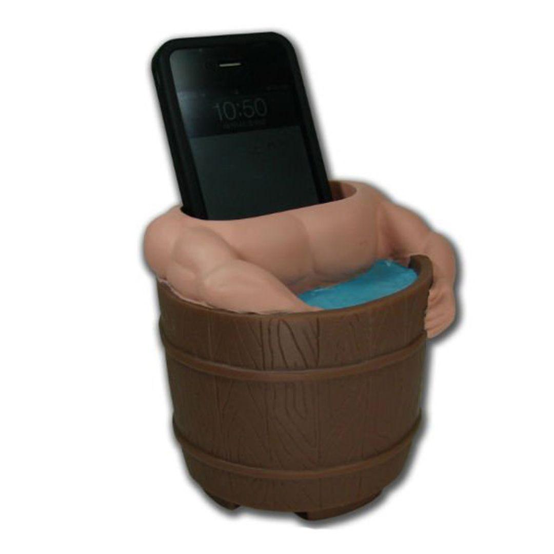 Подставка для телефона Мужчина в бане
