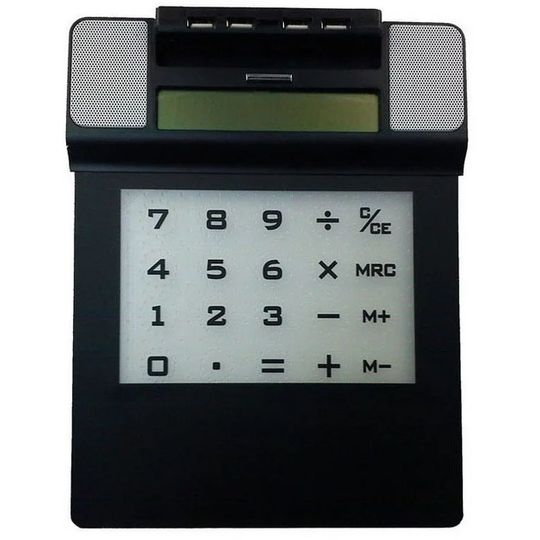 USB Хаб Коврик Колонка Калькулятор с подсветкой