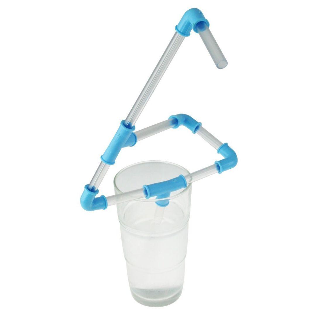 Трубопровод для напитков (Голубой) В собранном виде
