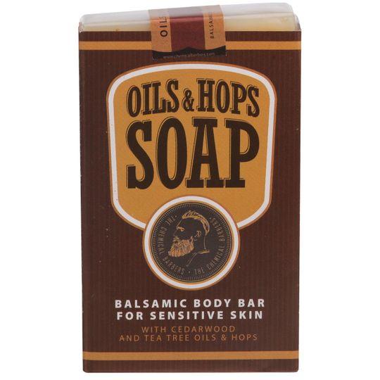 Бальзамическое мыло для тела с маслами и хмелем Oils & Hops Soap
