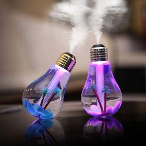 Увлажнитель воздуха с подсветкой Лампочка Bulb Humidifier