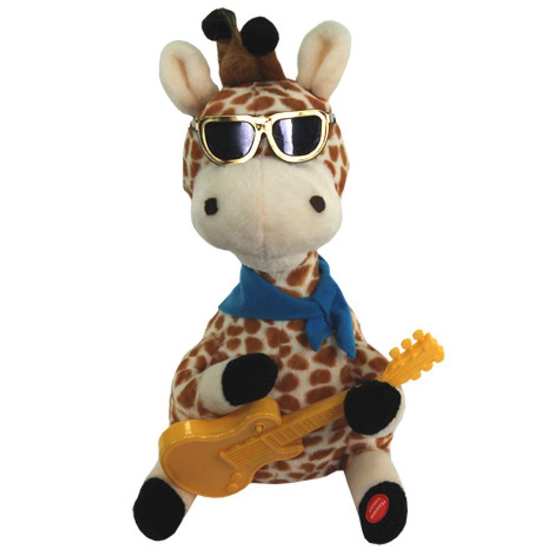 Музыкальная игрушка Влюбленный жираф